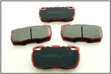 SFP000260TF DEFENDER 1994 ONWARDS FRONT BRAKE PADS (VENTED DISCS) (DEFENDER 90/110/130)